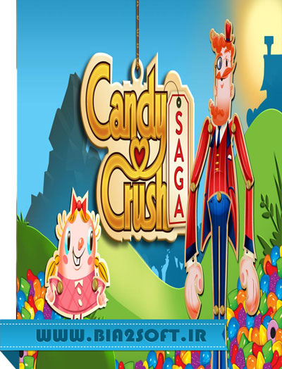 Candy Crush Saga v1.135.1.1 دانلود بازی کندی کراش + مود برای اندروید