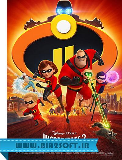 دانلود دوبله فارسی انیمیشن شگفت انگیزان ۲ – Incredibles 2 2018